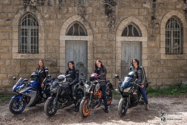 מבחן אופנועי 300 לכבוד יום האישה הבינלאומי